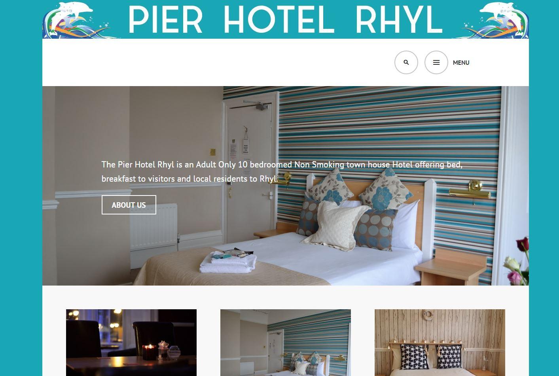 The Pier Hotel in Rhyl