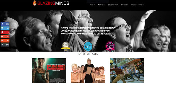 Blazing Minds Number One Blog in North Wales